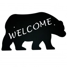 Bear Welcome Sign 525