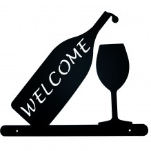 Wine Welcome Sign 5234